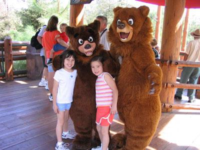 With Koda and Kenai