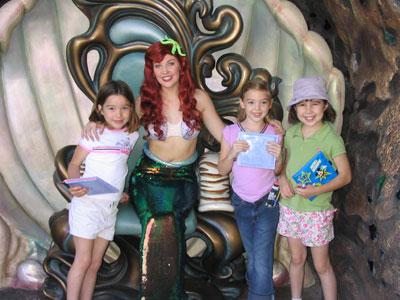 Zoë, Ariel, Isabel, and Emma