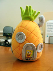 Zoë's SpongeBob Pineapple