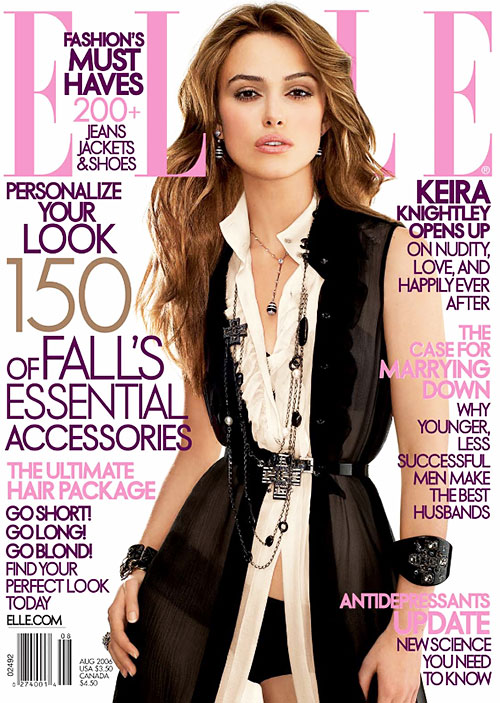 Elle Magazine (US), August 2006