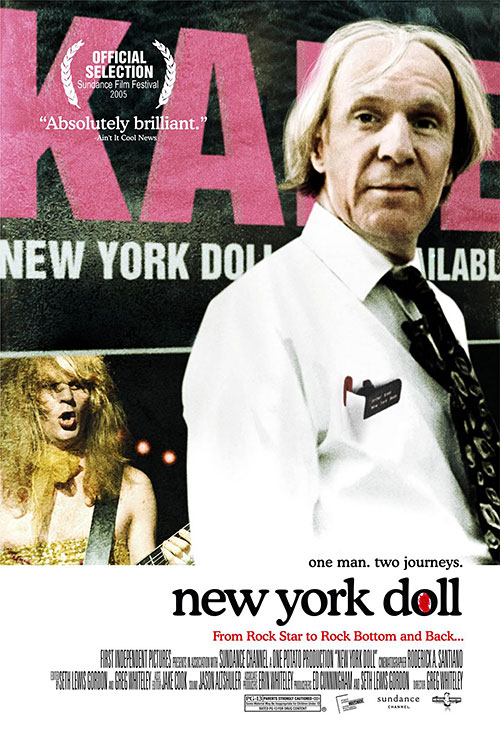 New York Doll: One Sheet