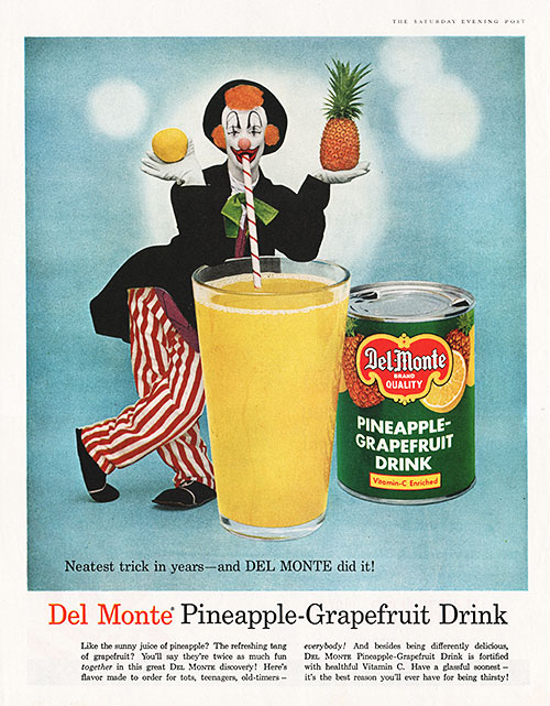 Del Monte Pineapple-Grapefruit Drink