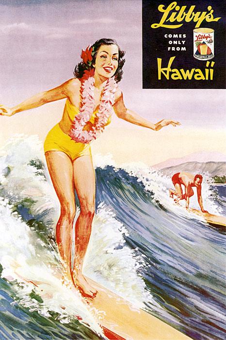 Libby's Surfer Girl