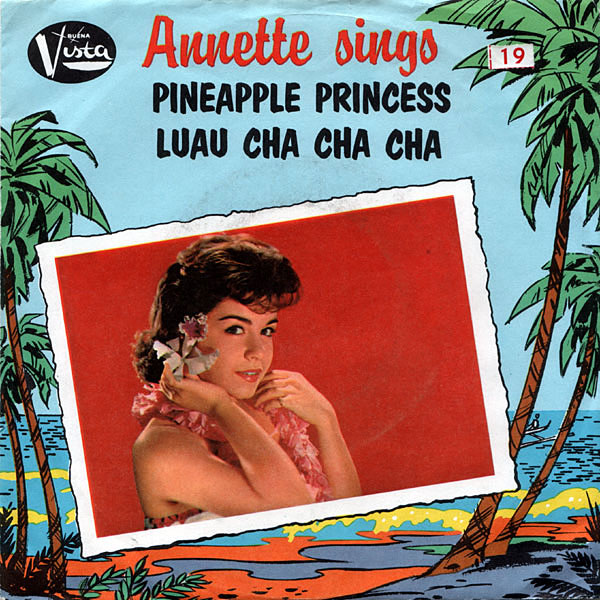Pineapple Princess, by Annette Funicello (Single)