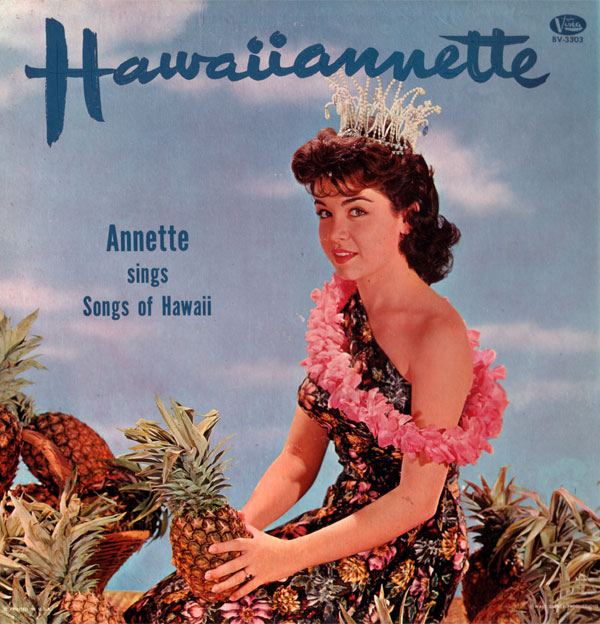 Pineapple Princess by Annette Funicello