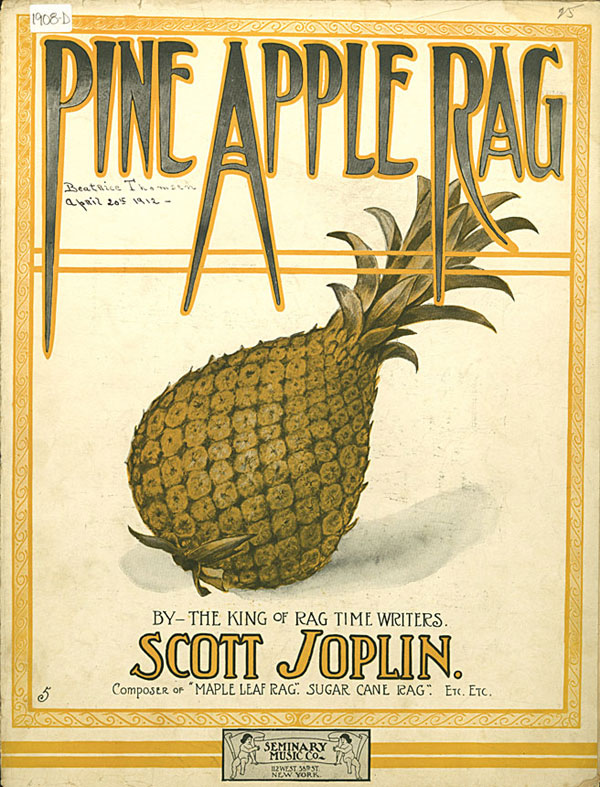 Pineapple Rag by Scott Joplin