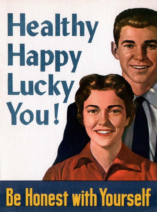 Be Honest With Yourself: Healthy Happy Lucky You!
