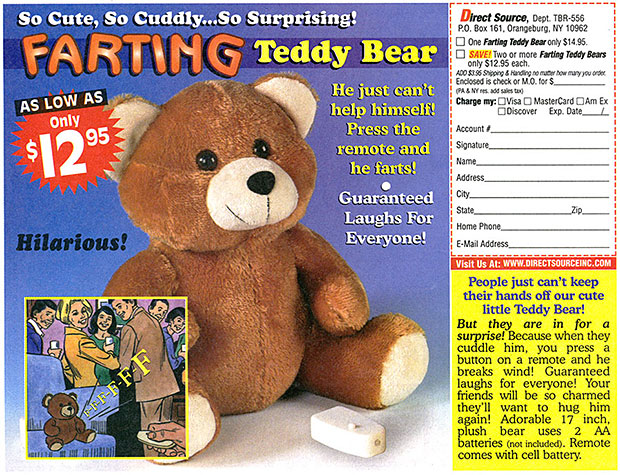 Farting Teddy Bear