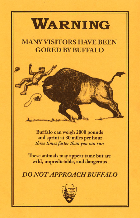Do Not Approach Buffalo